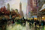Central Park South, Canvas
