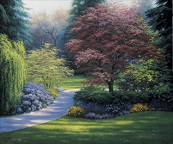 Japanese Maples, Canvas
