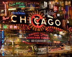Chicago Night by Giesla