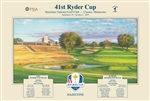 2016 Official Ryder Cup Poster