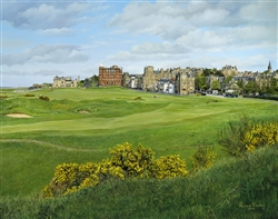 St Andrews Golf Course signed open edtion print