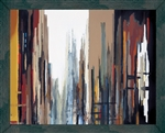 Urban Abstract Framed Faux Canvas by Gregory Lang