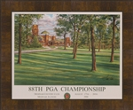 Framed 2006 Medinah CC Official Poster
