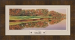 Framed 2006 Medinah CC Hole #17 Panoramic
