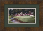 Augusta 13th hole framed mini