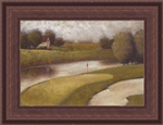 Sand Trap I Framed Faux Canvas