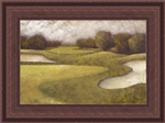 Sand Trap II Framed Faux Canvas