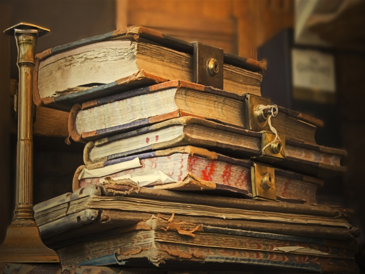 Old Books by Hal Halli