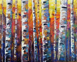 Contemporary birch tree image by Jeff Boutin