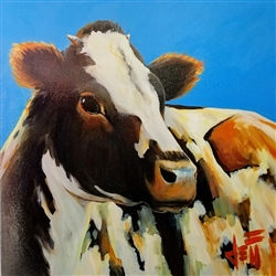 Sunbather - Cow image by Jeff Boutin