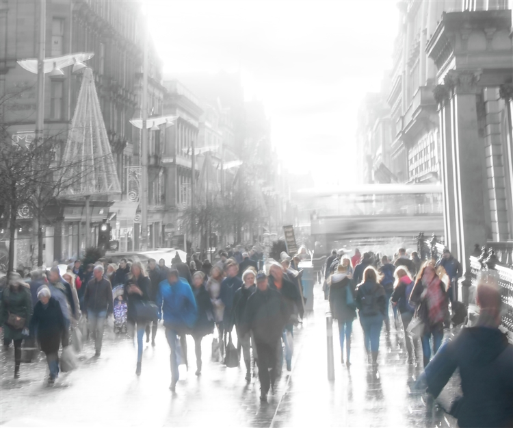 Buchanan Street by Hal Halli