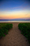 Ka'anapali Sunrise Hawaii 2. A gallery wrapped canvas by Kelly Wade