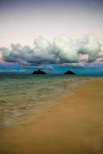 Lanikai Hawaiian Islands. A gallery wrapped canvas by Kelly Wade