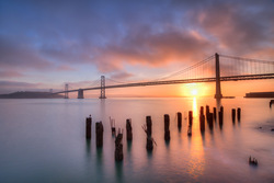 Low Tide Sunrise-San Francisco, CA by Scott Barlow