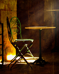 Chairs in Light by Hal Halli