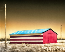 All American Barn giclee canvas by Don Schimmel