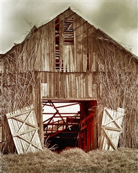 Deserted Barn giclee canvas by Don Schimmel
