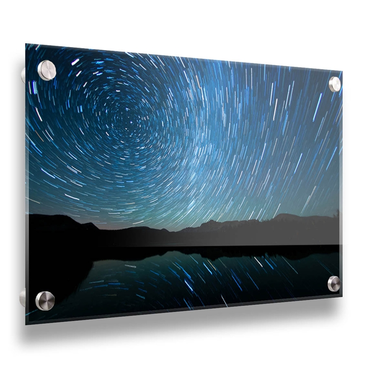 Watching the Stars Go Around acrylic by Scott Barlow