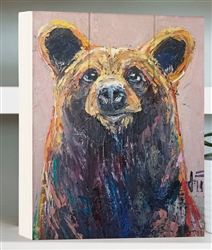 Opportunist - Bear by Jeff Boutin - Box board wood decor