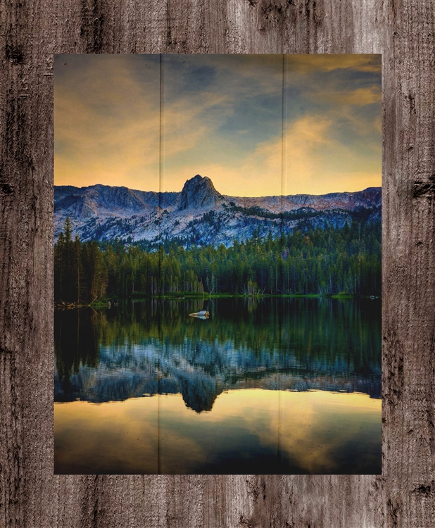 "Mamie Lake II ""vertical"" Mammoth, California by Kelly Wade"