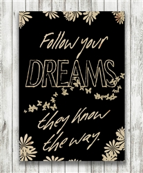 Follow Your Dreams by Hal Halli