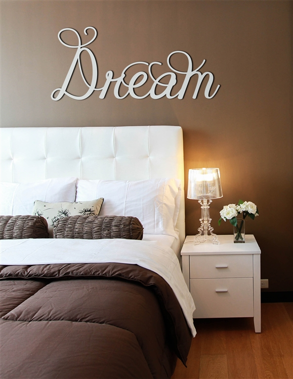 DREAM word art - Wood Laser Cut Wall Decor