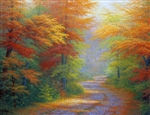 Autumn Interlude  30x40 original oil painting on canvas