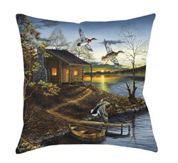 14x14 Autumn Retreat Decorative Pillow