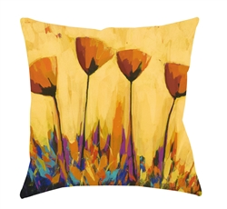 "14x14 ""Symphony of Color"" Decorative Pillow by Jeff Boutin"