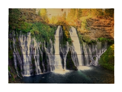 Burney Falls Wood pallet by Kelly Wade