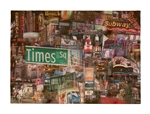 Times Square New York Wood pallet by Kelly Wade