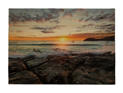 Manly sunrise Wood pallet by Scott Barlow