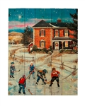 Country Christmas II by Patricia Bourque Decorative Wood wall plaque