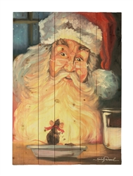 Christmas Snack by Kimberly Daniels Decorative Wood wall plaque