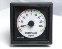 AlphaRudder XL-96 Rudder Angle Indicator (70SP)