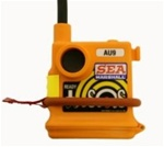AU9 100mW TEST MOB Alert Unit / PLB -121.65MHz