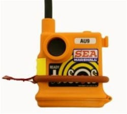 AU9 500mW TEST MOB Alert Unit / PLB -121.65MHz