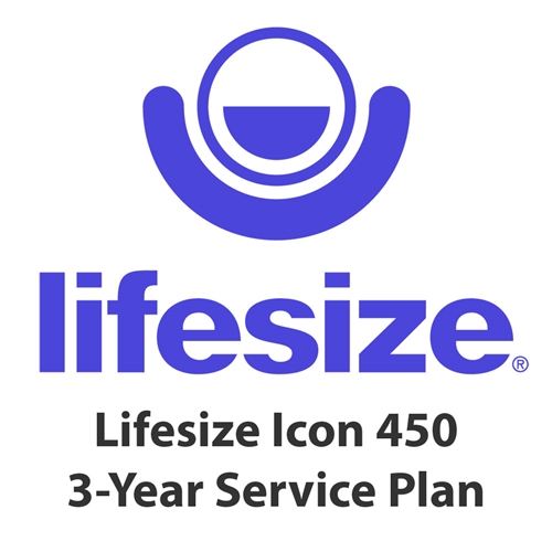 Lifesize Icon 450 3-Year Assurance Maintenance Service Plan