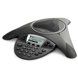 Polycom SoundStation IP 6000 Conference Phone 2200-15600-001 No AC