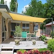 Heavy Duty Sun Sail Shade - 8' Square