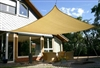 Heavy Duty Sun Sail Shade - Medium 13'x10' Rectangle - Available in 2 Colors
