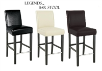 "Legends Modern Parsons 30"" Bar Stool"