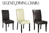 Legends Modern Parsons Dining Chairs (Set of 2)
