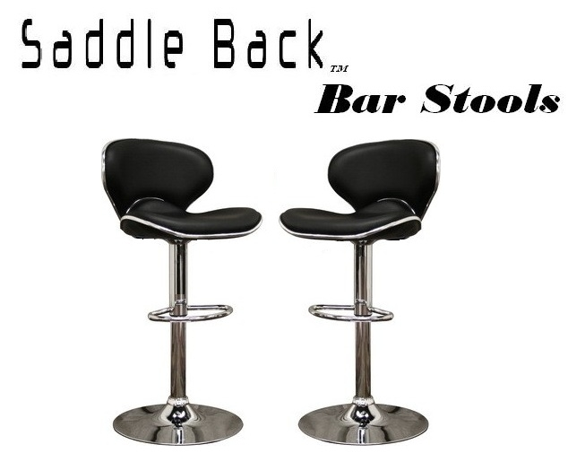 Incredible Saddleback Modern Adjustable Bar Stool Set Of 2 Gmtry Best Dining Table And Chair Ideas Images Gmtryco