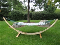 Wooden Arc Cypress Hammock Stand