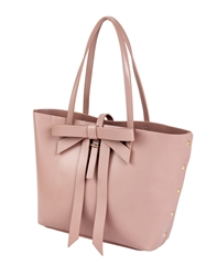 Large Bow Tote in Pink
