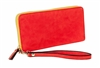Summer Brights Red Zip Around Wallet