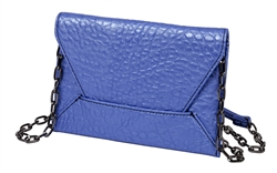 Envelope Cross body in Blue