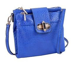 Cross Body Bag in Cobalt