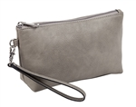 Cement Cosmetic Wristlet